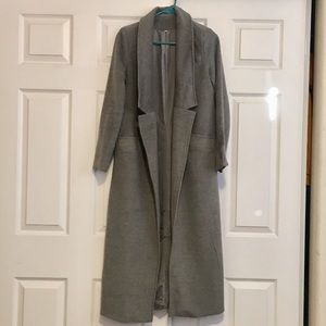 NWOT Long/Trench Coat